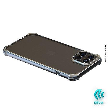 Capa Para iPhone 12 Pro Max Glitter Shockproof Devia Prata