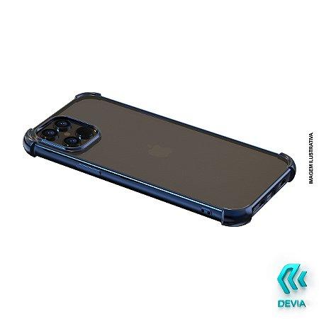 Capa Para iPhone 12 Pro Max Glitter Shockproof Devia Azul