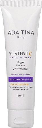 Creme Antissinais com Vitamina C  Pro Colágeno Sustente C Pro-Collagen 30ml - Ada Tina