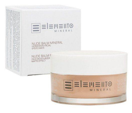 Hidratante Facial Nude Balm Efeito Matte 50g – Elemento Mineral