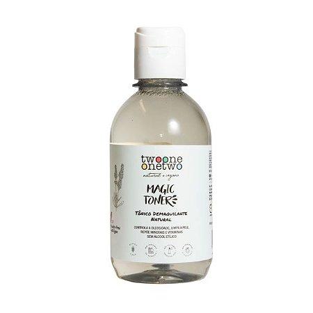 Magic Toner Tônico Demaquilante Natural Vegano Lavanda e Melaleuca  250ml - Twoone Onetwo
