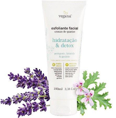 Esfoliante Facial Hidratação&Detox 100ml - WNF
