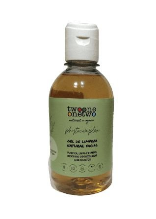 Gel de Limpeza Facial Natural Vegano sulfate Free Chá Verde 60g -Twoone Onetwo
