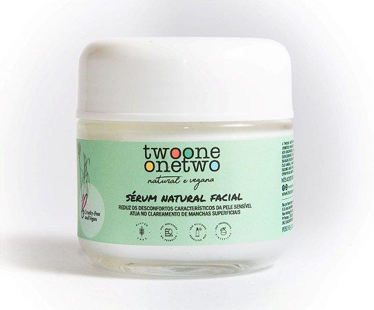 Sérum Facial Peles Sensíveis Natural Vegano Gengibre Chinês 60g - Twoone Onetwo