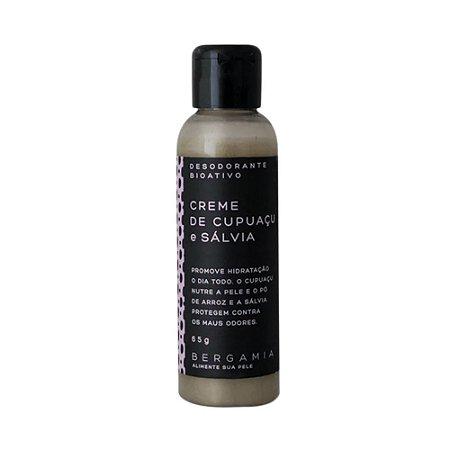 Desodorante em Creme Cupuaçu e Sálvia 65g – Bergamia