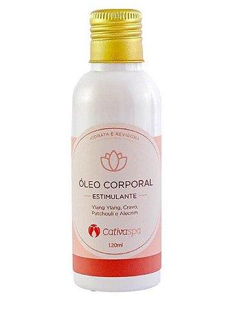 Óleo Corporal Natural Estimulante Cativa Spa 120ml – Cativa Natureza