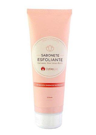 Sabonete Natural Esfoliante com Damasco Cativa SPA 250ml - Cativa Natureza
