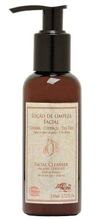 Loção de Limpeza Facial Copaíba e Tea Tree Orgânico 110ml - Arte dos Aromas