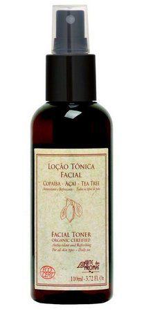 Loção Tônica Facial Orgânica Copaíba e Tea Tree 110ml - Arte dos Aromas