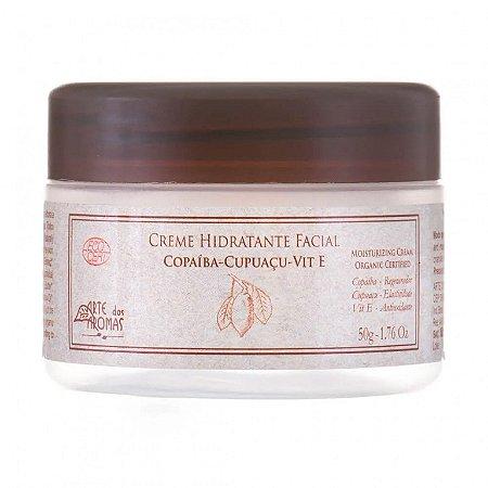 Creme Hidratante Facial Orgânico Copaíba e Tea Tree 50g - Arte dos Aromas