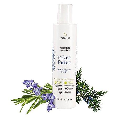 Xampu Raizes Fortes Alecrim 200ml-WNF