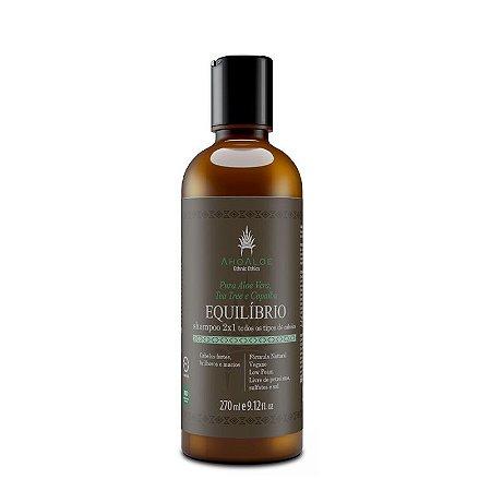 Shampoo Natural 2 em 1 Equilíbrio 270 ml – AhoAloe