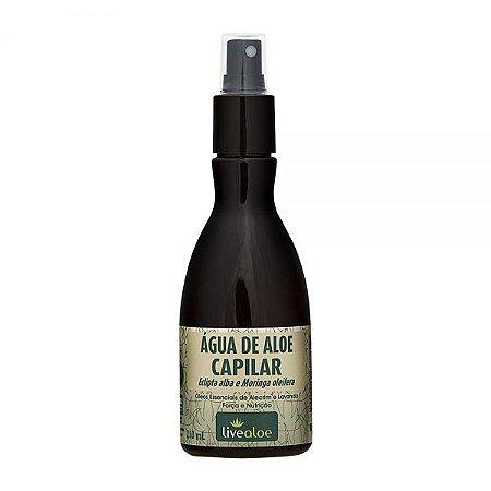 Água de Aloe Vera para Fortalecimento Capilar 210ml – Livealoe