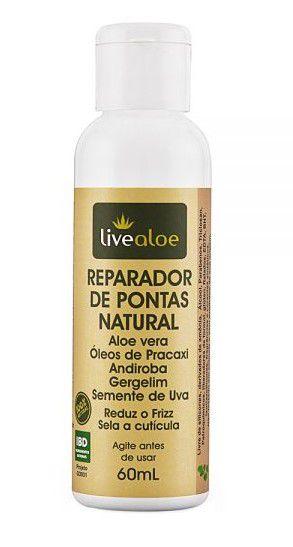 Reparador de Pontas Natural e Vegano 60ml – Livealoe