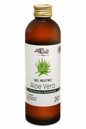 Gel Neutro de Aloe Vera Hidratante e Suavizante 240ml – Arte dos Aromas