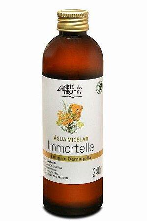 Água Micelar Natural Immortelle 240ml – Arte dos Aromas