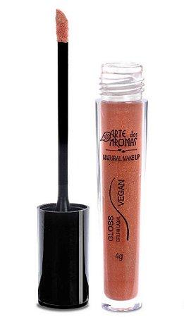Gloss Brilho Labial Natural e Vegano 4g - Nude Gold Arte dos Aromas