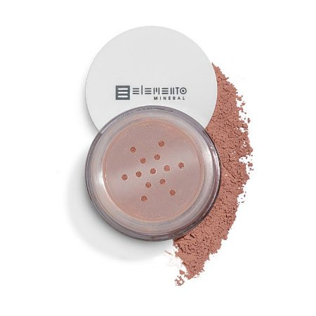 Blush Mineral  Matte - Sunset (Rosa Nude) 3g - Elemento Mineral