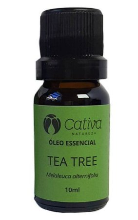 Óleo Essencial Natural de Tea Tree 10ml – Cativa Natureza