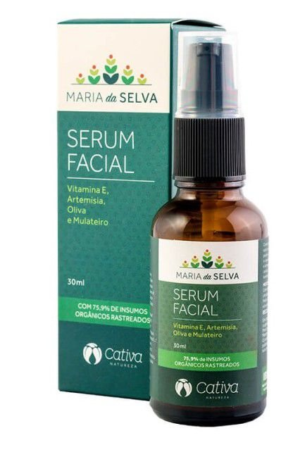 Sérum Facial Natural Maria da Selva 30ml – Cativa Natureza