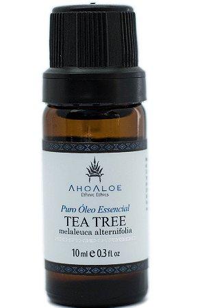 Óleo Essencial de Melaleuca (Tea Tree) Orgânico  10ml -Ahoaloe