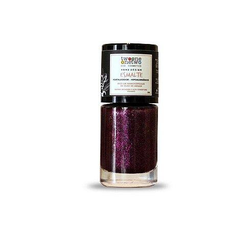 Esmalte Hipoalergênico Fortalecedor Natural e Vegano 611 Pink 10ml - Twoone Onetwo