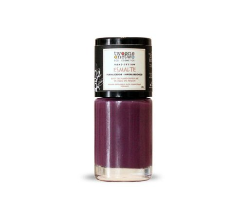 Esmalte Hipoalergênico Fortalecedor Natural e Vegano 627 Purple 10ml - Twoone Onetwo