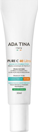 Vitamina C para o Rosto Concentrada Pure C 40 Ultra 30ml - Ada Tina