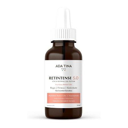 Sérum Retinol Peptide Rejuvenescedor Clareador Retitense 5.0 -30ml - Ada tina