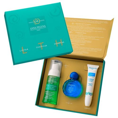 Kit - Limpar Tonificar e Hidratar para peles mistas  - middle-size - Anna Pegova