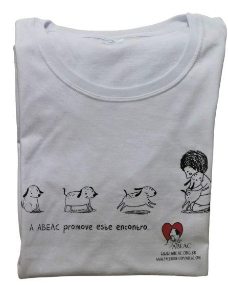 Camiseta Baby Look Abeac Promove Esse Encontro