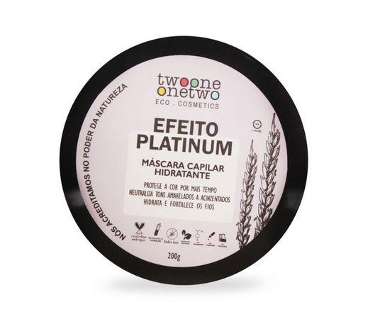 Máscara Capilar Hidratante Efeito Platinum Natural Vegana 200g - Twoone Onetwo