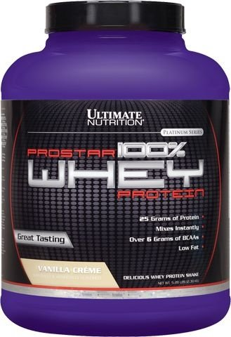Prostar Whey Protein (2,39kg) - Ultimate Nutrition