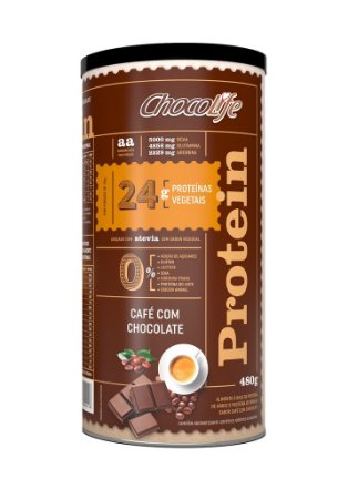 Chocolife Protein (480g) – Café com Chocolate