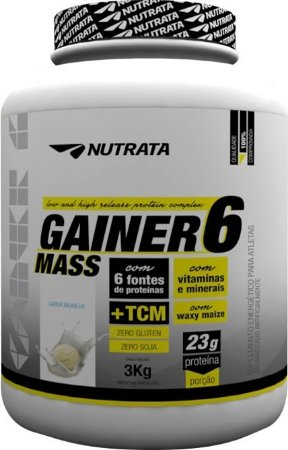 GAINER 6 MASS (3kg) - Nutrata