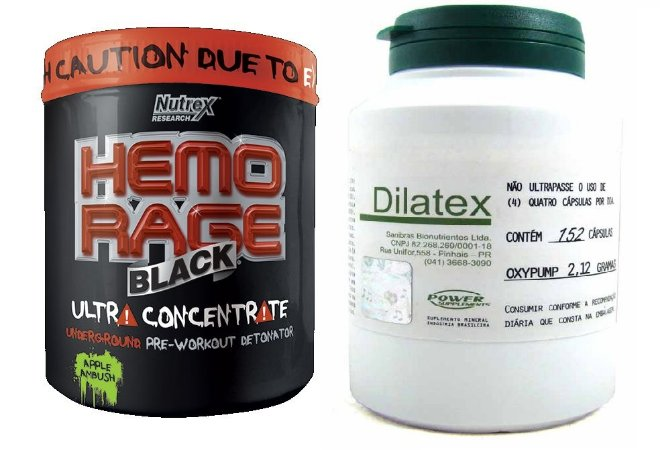 Combo Hemorage 50 doses + Dilatex (152 caps)