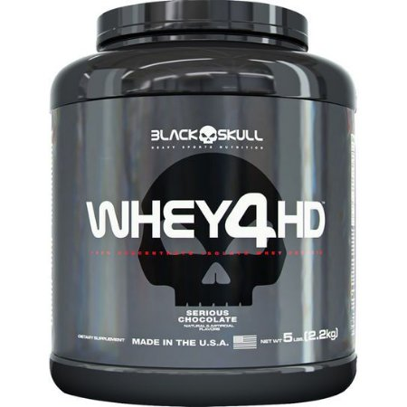 WHEY 4HD 2.267 G - BLACK SKULL