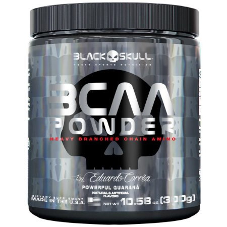 BCAA Powder (300g) - Black Skull