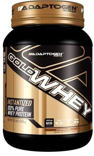 Gold Whey (909g) – Adaptogen Science