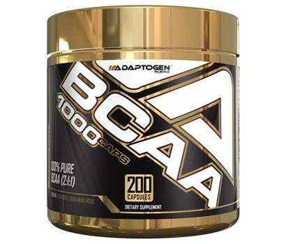 BCAA 1000mg (200 caps) - Adaptogen Science