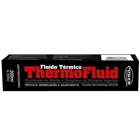 THERMOFLUID (TERMOGÊNICO EM SPRAY) 200ml - POWER SUPPLEMENTS