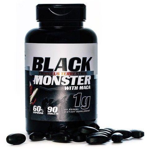 Tribulus Terrestris com Maca Peruana Black Monster (90 caps) 1000mg - Super Nutrition