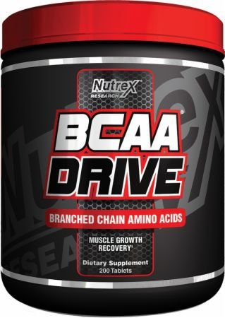 BCAA Drive Black (200 tabs) - Nutrex - (VAL.30/05/17)