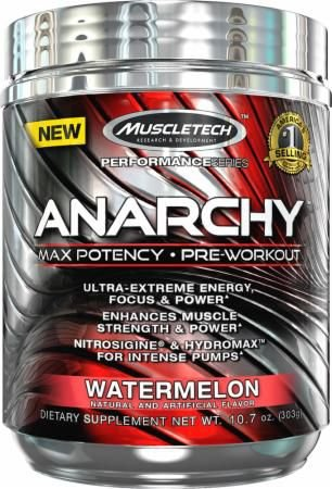 Anarchy (30 Doses) Pré-Workout - MuscleTech