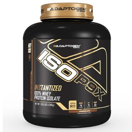 whey ISO P9X (3 lbs) - Adaptogen Science
