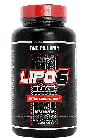 Lipo 6 Black (60 caps) - Nutrex