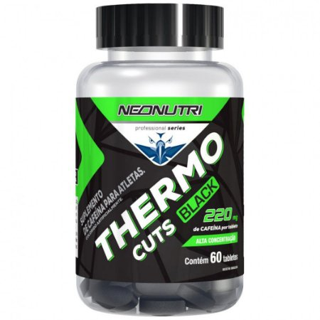 Thermo Cuts Black (60 caps) - NeoNutri