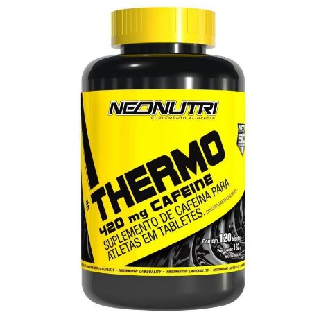 Thermo 420mg Cafeine (120 tabs) - NeoNutri