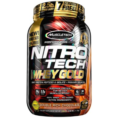 Nitro Tech 100% Whey Gold (1,13kg) - Muscle Tech
