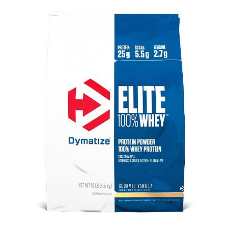 Elite Whey (4.5kg) - Dymatize Nutrition